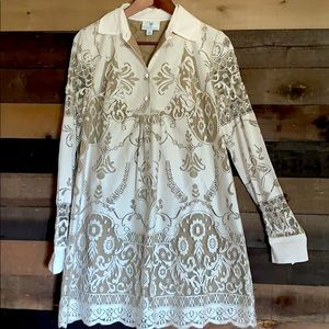 Anna sui anthropologie @target  lace boho dress